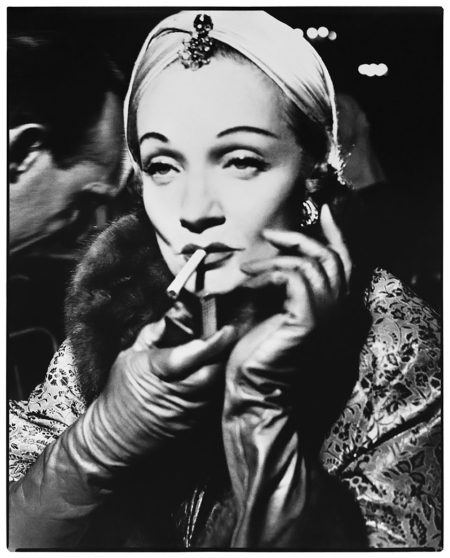 Photo Richard Avedon Early Paris Fashion Marlene Dietrich, turban by Dior, The Ritz, Paris, 1955