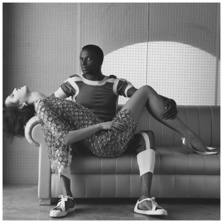 Robert Mapplethorpe Paris Fashion : Dovanna, 1984