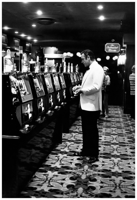 Sean Connery plays the slots