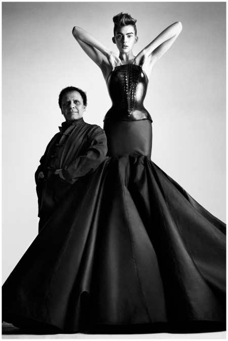 Alaïa, bustier dress, couture S:S 2003 © Patrick Demarchelier