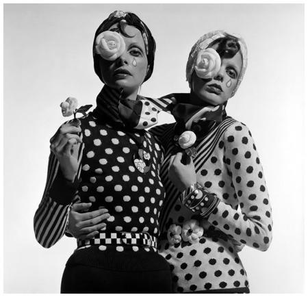 Alfa Castaldi per Valentino, Previsioni Vogue Italia - Milano, 1972