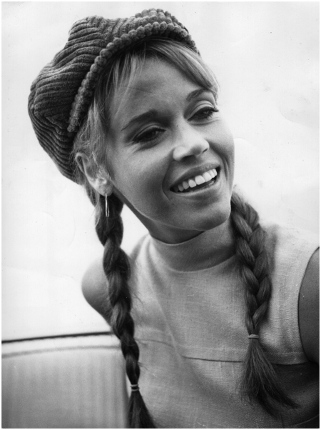 American actress and activist Jane Fonda, 1966