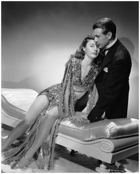 Barbara Stanwyck And Gary Cooper In Ball Of Fire, 1941 Photo George Hurrell