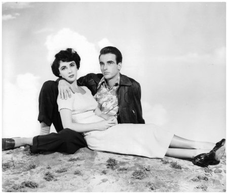 Elizabeth Taylor And Montgomery Clift In A Place In The Sun, 1951