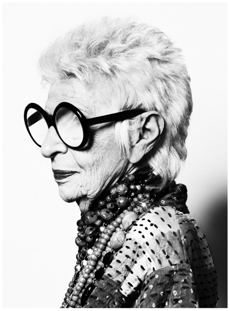 Iris Apfel -Photo Thomas Whiteside