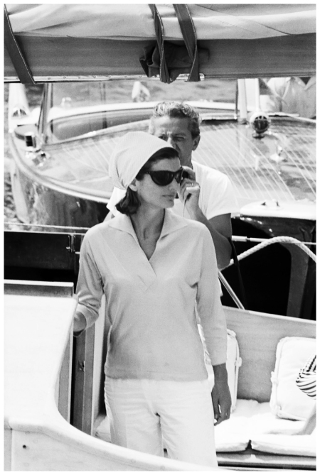 Jackie Kennedy - Ravello Photo Benno Graziani 1952