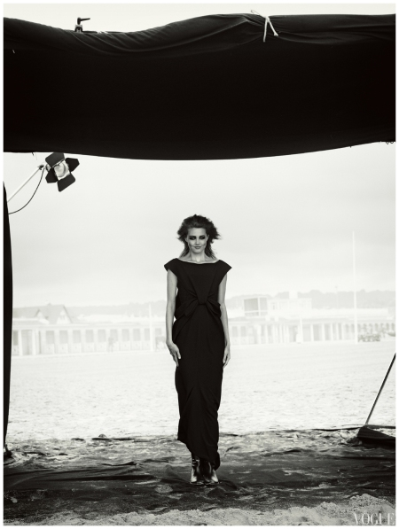 Lindsey Wixson photographed by Peter Lindbergh for Vogue Japan Oct 2013