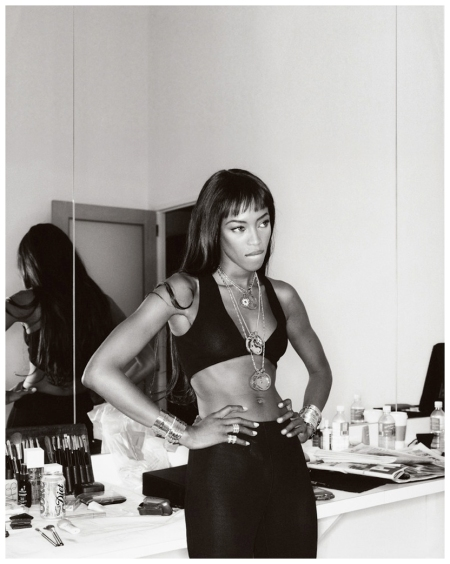 Naomi Campbell Photo Gilles Bensimon, 9