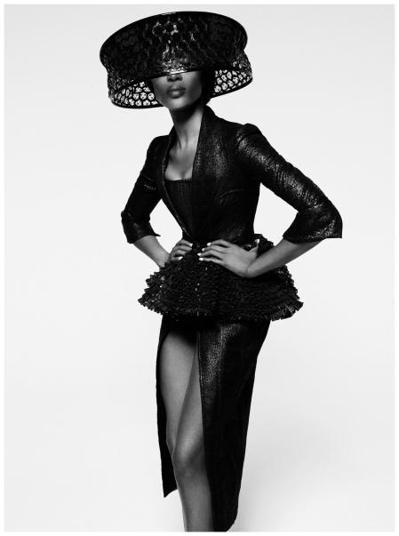 Naomi Campbell Photo Thomas Whiteside