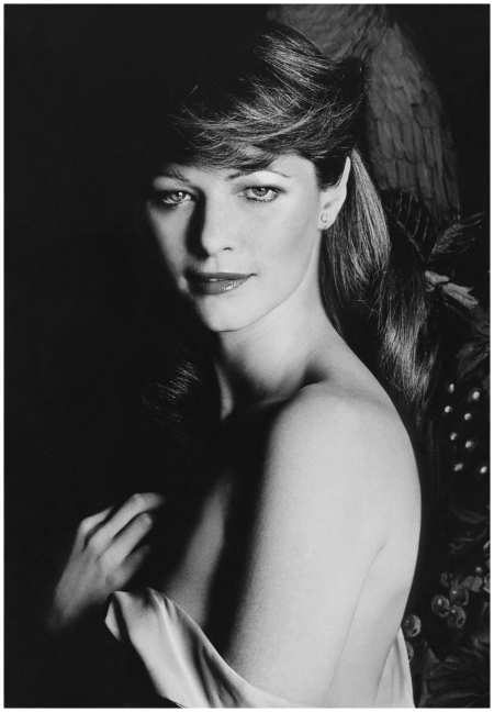 Photo Gianni Penati 1972 A bared shoulder Charlotte Rampling at NYC El Marocco club