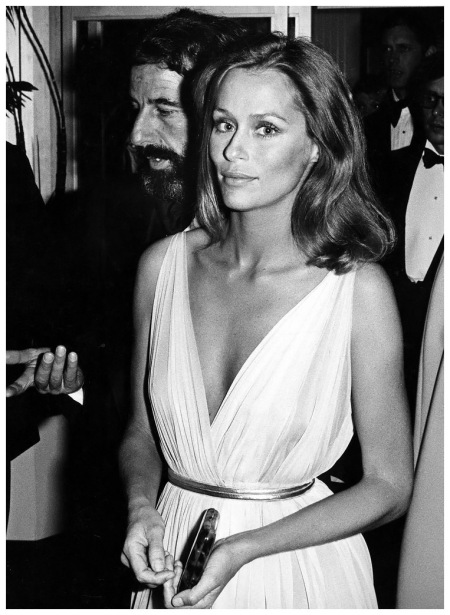 Photo Ron Galella Lauren Hutton 47th Annual Academy Awards 1975