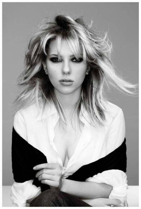 Scarlett Johansson by Gilles Bensimon
