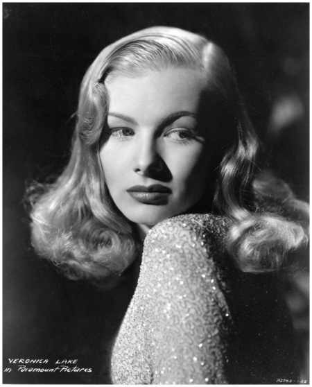 Veronica Lake A publicity shoot in Hollywood, 1945