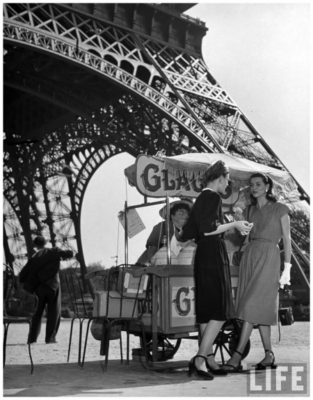 Americans In Paris 1947 Photo Yale Joel