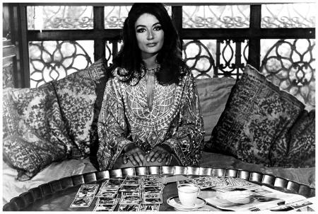 """Anouk Aimée in """"Justine"""" (1969)"""