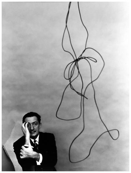 Arnold Newman Dalì 1951