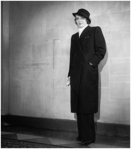 Marlene Dietrich Posing