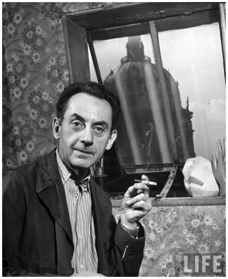 Man Ray - Photo Yale Joel 1947