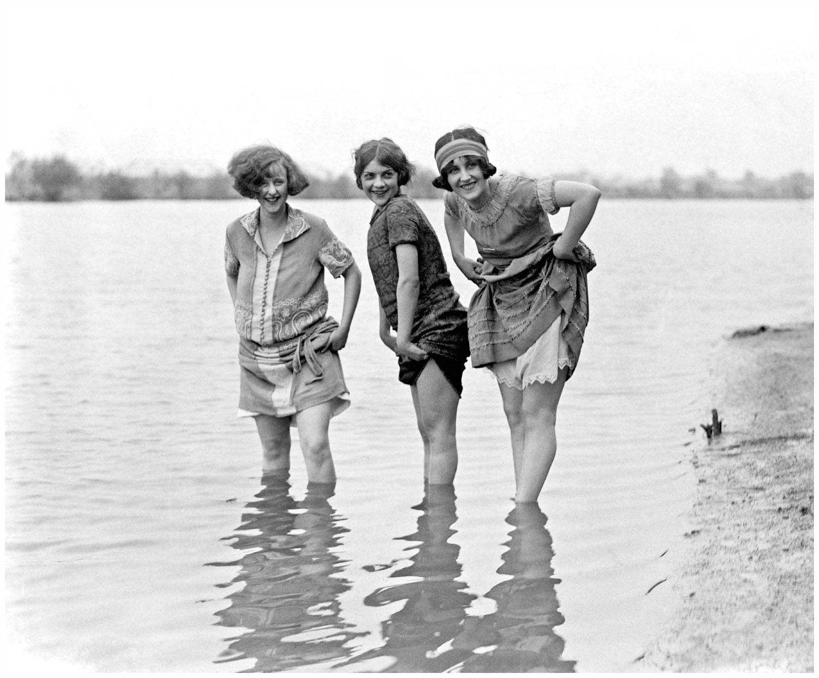 Models, Washington fashion show, 1924