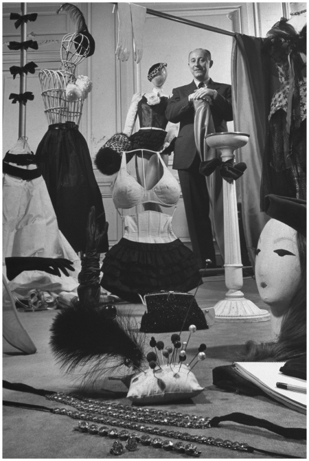 November 1 1947 – In his studio, surrounded by some of his creations