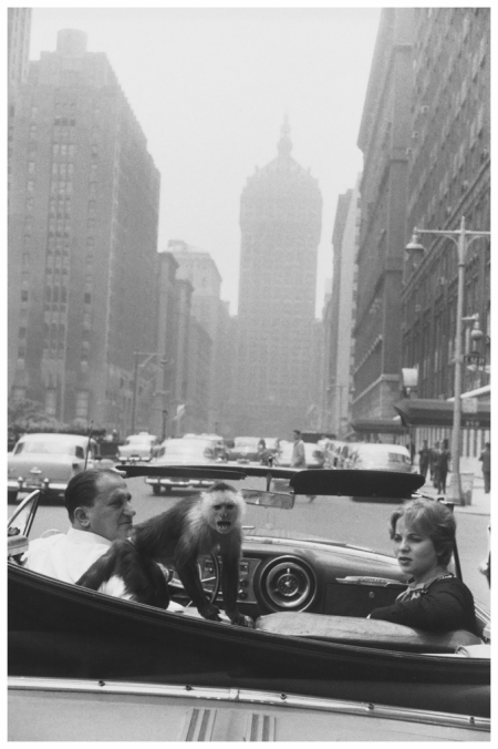 Park Avenue, New York, 1956