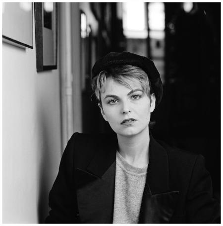 Photographer Bettina Rheims - Paris 1983 -Photo Stephane Coutelle