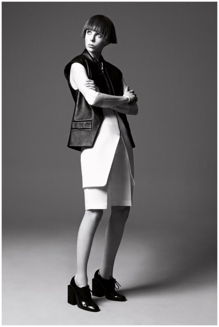 A shot from her Vogue cover shoot Photo David Sims
