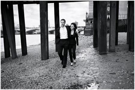 Damian Lewis and Helen McCrory 2013