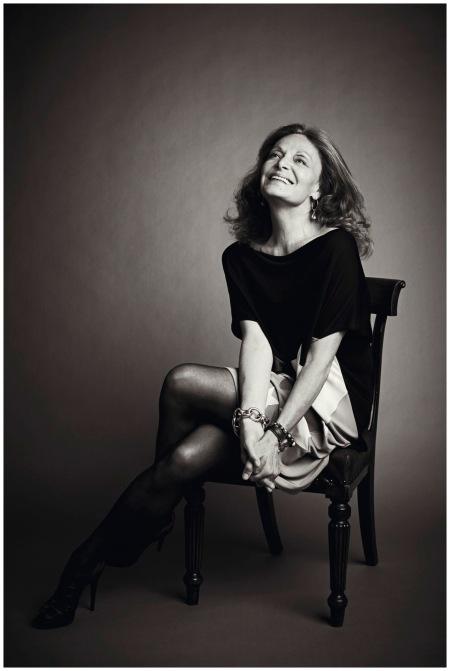 Diane von Furstenberg at the 2012 Vogue Festival