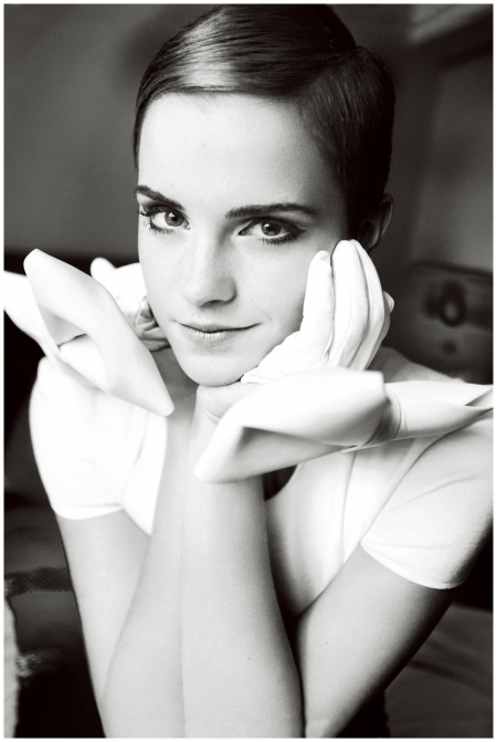 Emma Watson Vogue 2010 Photo Mario Testino