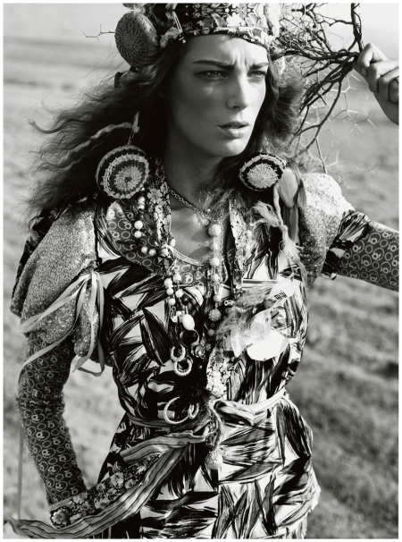 January 2005 Daria Werbowy Photo Mario Testino