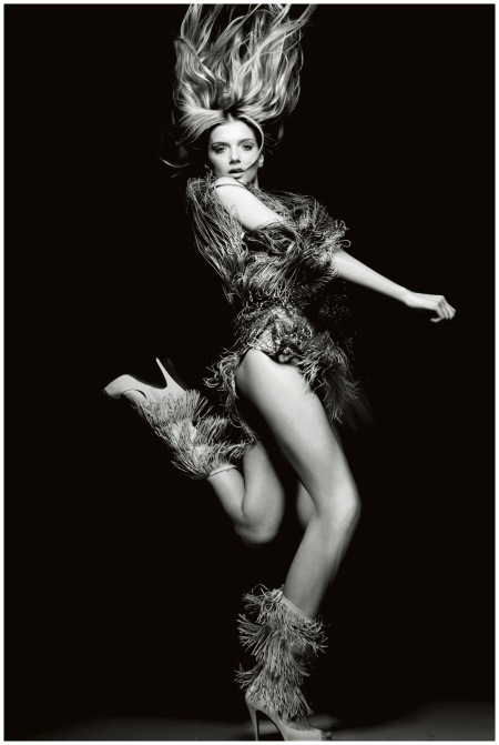Lily Donaldson in the March 2009 issue
