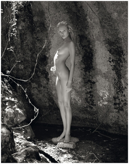 Natasha Poly, shot by Mario Sorrenti for the 2012 calendar