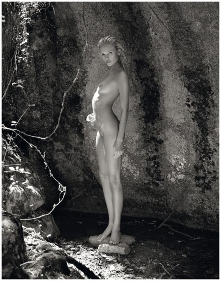 Natasha Poly, shot by Mario Sorrenti for the 2012 calendar