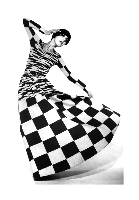 Peggy Moffitt in a Rudi Gernreich design, 1971