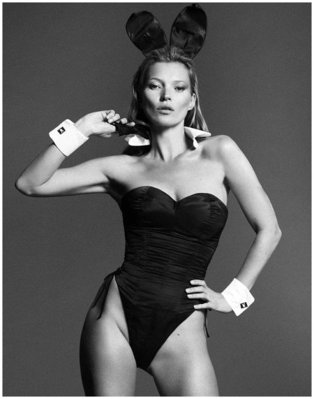 Playboy reveals another shot from inside the magazine's Kate Moss editorial, set to be unveiled this week Mert Alas and Marcus Piggott:Playboy