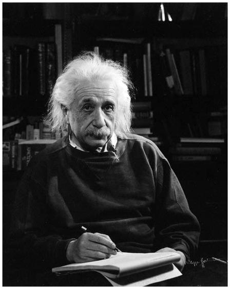 Albert Einstein Photo Philippe Halsman, 1947 b