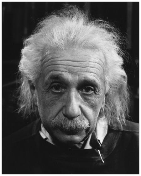 Albert Einstein Photo Philippe Halsman, 1947