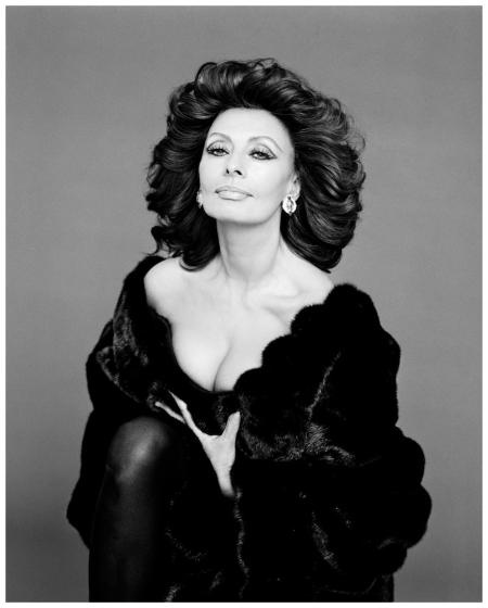 Gian Paolo Barbieri - Sophia Loren - 1995