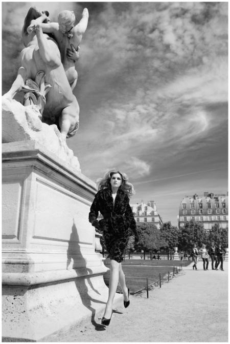 Lily Donaldson Photo Patrick Demarchelier Paris Vogue - 2009_b