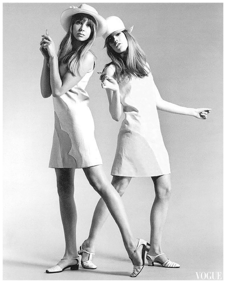 Pattie Boyd & Jenny Boyd, Peel Slowly and Se 1966 b