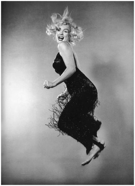 "Philippe Halsman - Marilyn Monroe, ""Jumpology"", 1959"