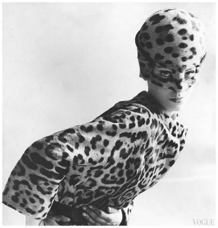 Photo Leombruno Bodi 1965 - Benedetta Barzini, ottobre 1965 Vogue