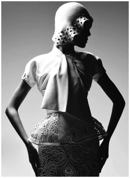 Photo Patrick Demarchelier dior book 2011 , Dior Haute Couture collection 2008 Harper