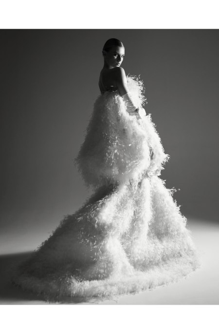 Photo Patrick Demarchelier dior book 2011 Maryna Linchuk Photo Patrick Demarchelier Dior-Haute Couture 2011 Vogue Russia, May