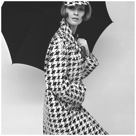 Belted Tweed Suit Spring 1964 Photo John French