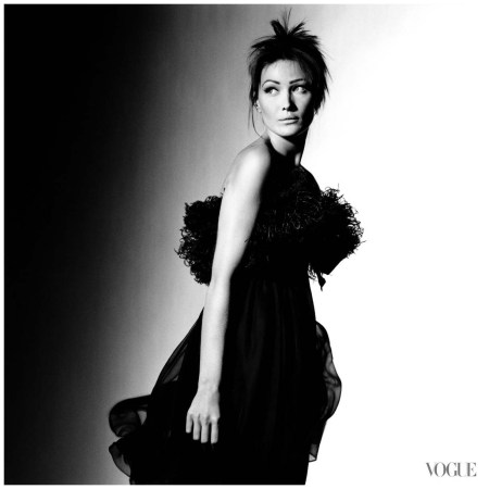 Carla Bruni Irving Penn, Vogue, September 1993