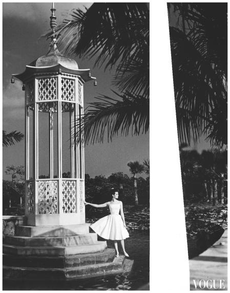 Carmen dell Orefice, Vogue, July, 1959
