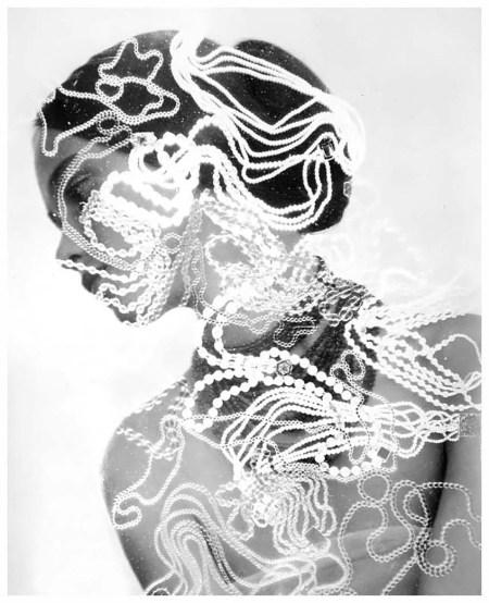 Herbert Matter Woman with Beads, 1948