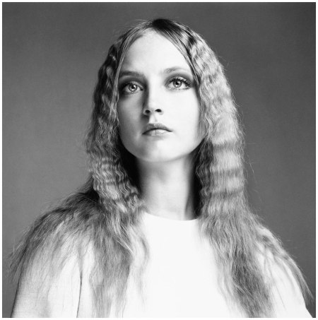 Ingrid Boulting, hair by Ara Gallant, New York, July 1, 1969